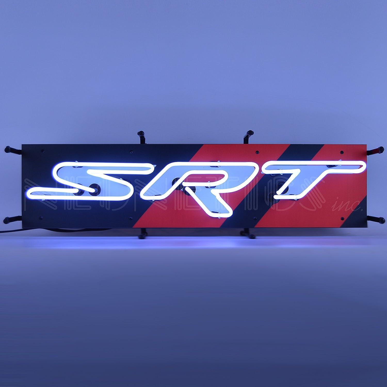 Neonetics Dodge SRT Max 84% OFF Junior Neon San Jose Mall Bright with Sign White Real