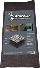 ArmorLay Non-Woven Filter Fabric (12.5' X 60')- High Flow Rate - Highly Permeable Stabilization Fabric