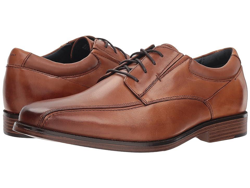 f40441438cb Dockers Endow 2.0 Bike Toe Oxford (Butterscotch Polished Full Grain) Men s  Shoes