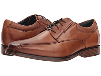 Dockers Endow 2.0 Bike Toe Oxford (Butterscotch Polished Full Grain) Men