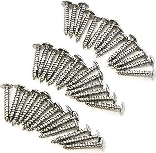 Forme basse /Écrous de serrage hexagonaux autobloquants Lot de 10 /écrous de s/écurit/é M6 DIN 985 en acier inoxydable
