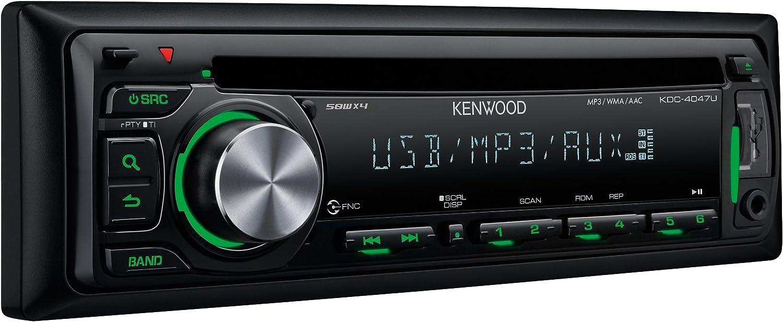 Kenwood Kdc 4047 Ug Cd Mp3 Tuner Schwarz Elektronik