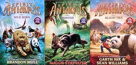 Spirit Animals Series Set of 3 Books: Book 1 Wild Born, Book 2, Hunted, Book 3 Blood Ties