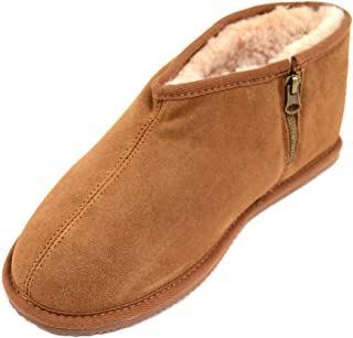 SNUGRUGS Benji, Men's Sheepskin Slipper Boot