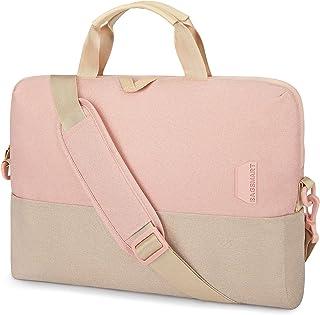 Laptop Bag for Women Men,BAGSMART 15.6 Inch Laptop Case Computer Bag Briefcase Work Shoulder Bag