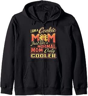 Cookie Mom Scout Leader Gift Scouting Girls Troop Mommy Zip Hoodie