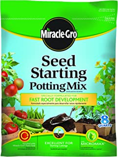 Miracle-Gro Seed Starting Potting Mix, 8-Quart