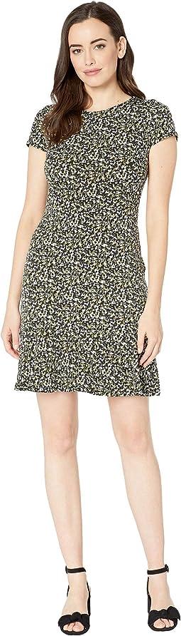 Pebble Camo Flounce Dress
