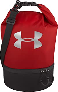 Under Armour Dual Compartment Lunch Bag, Red/Metallic