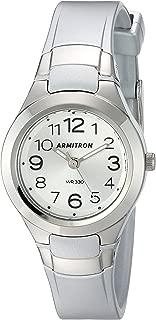 Armitron Sport Women's 25/6418 Easy to Read Dial Resin Strap Watch