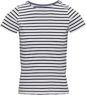 Womens/Ladies Mariniere Coastal Short Sleeve T-Shirt