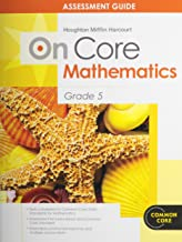 Houghton Mifflin Harcourt on Core Mathematics: Assessment Guide Grade 5 (Houghton Mifflin Harcourt Mathematics On Core)