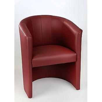 Generisch Design Cocktailsessel Sessel Clubsessel Loungesessel Club M/öbel B/ürosessel Praxism/öbel Antik Braun dunkel Wildleder Optik