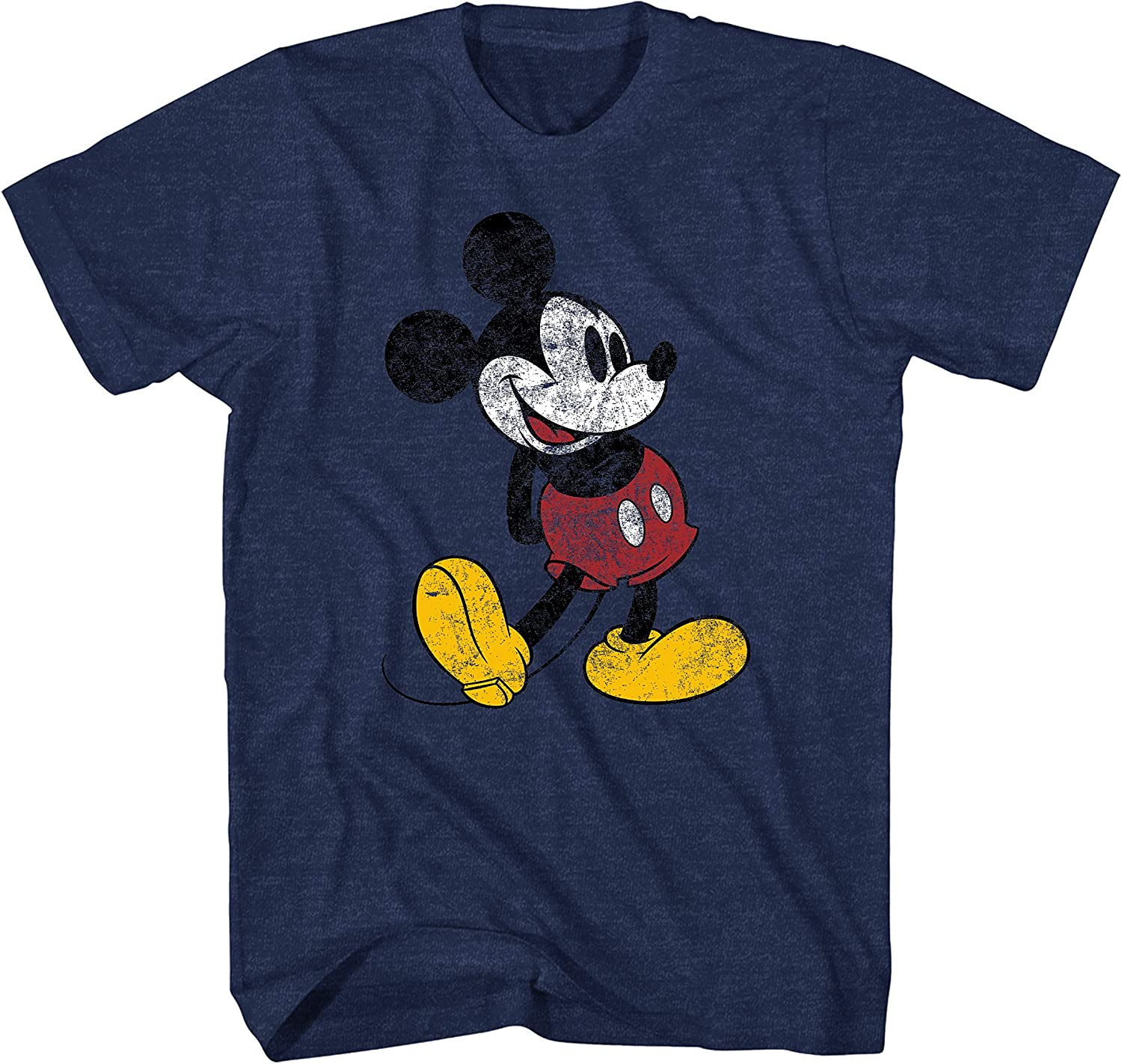 Disney Our shop OFFers the best service Mickey Mouse Classic Standing Distressed Finally resale start T-Shirt