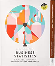 Bundle: Business Statistics: Australia New Zealand with Student  Resource Access for 12 Months + PP0952 - Learning Statistics and EXCEL in Tandem