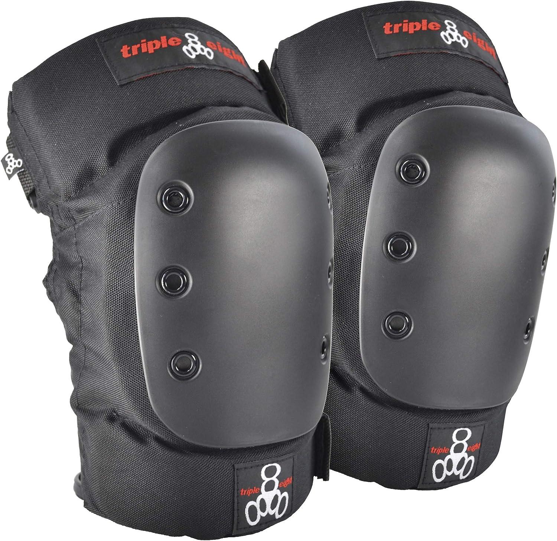 Triple Eight KP 22 Heavy-Duty Skateboarding Knee Pads (Pair) : Skate And Skateboarding Knee Pads : Sports & Outdoors