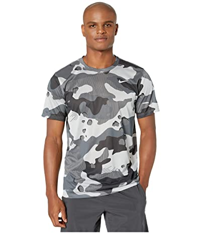 Nike Dry Tee Legend Camo All Over Print (Light Smoke Grey) Men
