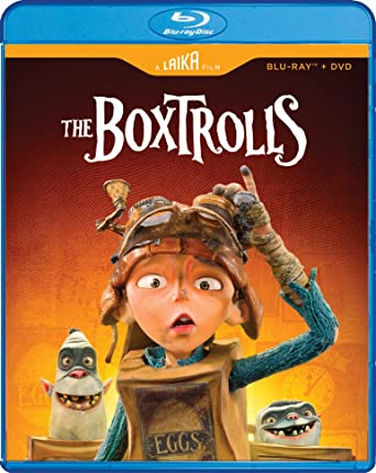 Poster. The Boxtrolls