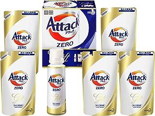 【洗剤ギフト】 アタックZERO 400g*1本 つめかえ360g*5袋 (抗菌+プラス 24時間部屋干し臭を防ぐ)