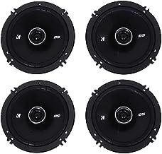 """4) Kicker 43DSC6504 6.5"""" 240 Watt 2-Way 4-Ohm Car Audio Coaxial Speakers DSC6504 photo"""