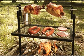 Rotisserie & Spit Grill Cooking Campfire Slow Roast Outdoor Camping BBQ Texsport .#GH45843 3468-T34562FD732416