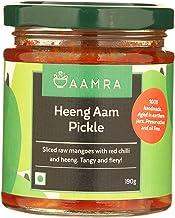 Aamra (Ghaziabad) Homemade Heeng Aam Indian Mango Pickle - 190 grams