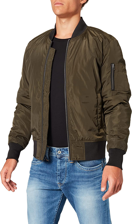 Urban Classics 2-Tone Bomber Jacket for Men