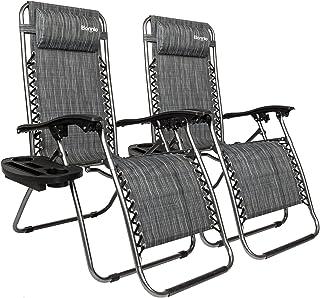 Folding Patio Lounge Chairs Amazon Com