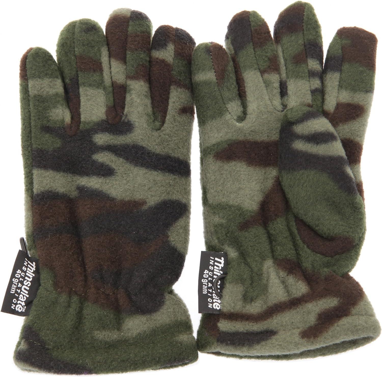 3M 40g Gar/çon /à motif camouflage Gants thermiques Thinsulate
