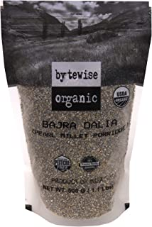 Bytewise Organic Bajra Dalia / Pearl Millet Porridge, 500 GMS