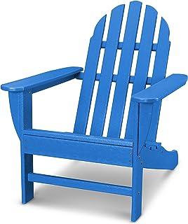 POLYWOOD Classic Adirondack Adirondack Chair, Pacific Blue