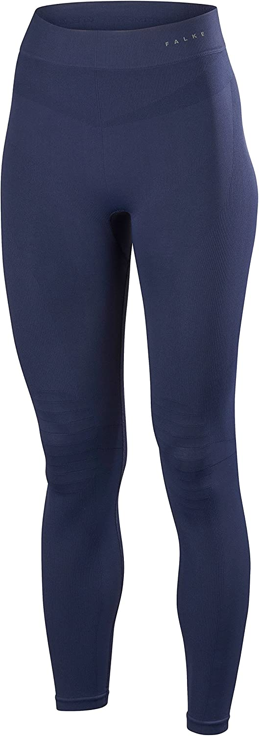 Falke Womens Maximum Warm Long Tights  Dark Night Navy