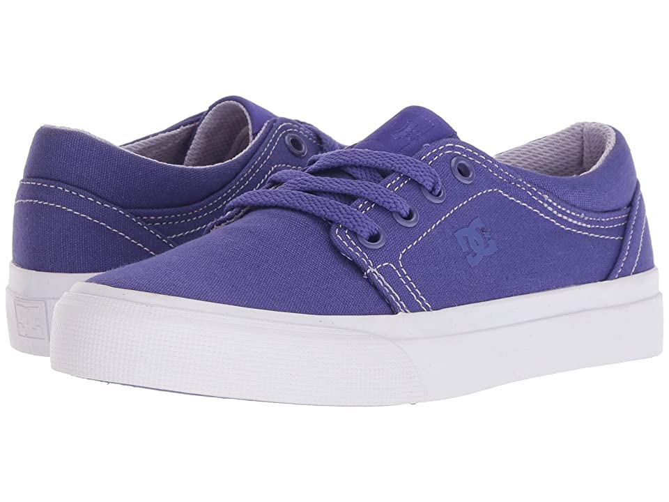 DC Kids Trase TX (Little Kid/Big Kid) (Purple Rain) Girls Shoes