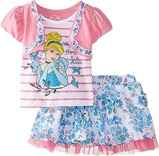Disney Girls' Two-Piece Princess Cinderella Shrug Shirt and Scooter Set