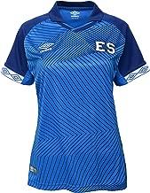 Umbro Women's El Salvador Home Jersey-Blue