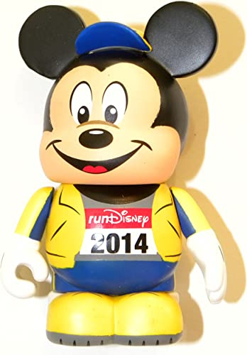 Disney Park Vinylmation Eachez Run 2014 Gelb Variant 3 Mickey Mouse Figure