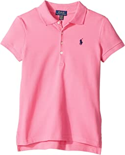 Short Sleeve Mesh Polo Shirt (Little Kids/Big Kids)