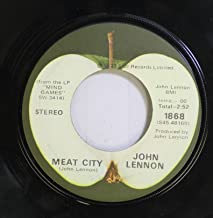 John Lennon 45 RPM Meat City / Mind Games