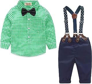 Yilaku Bebés Juego de Ropa Camisas y Pantalones Conjunto