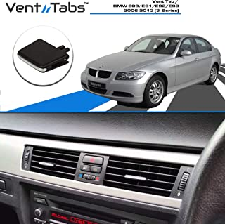 For BMW 3 Series E92 E93 2 Doors 318i 320i 325i 328i 330i 335i 320d 325d 2009-2012 M Color Front Grille Grill Cover Insert Trim Clips 3Pcs 13 Grilles