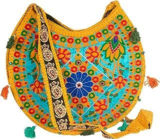 Floral Colorful Shoulder Bag Crossbody Hobo Satchel Hippie Boho Fashion Women Functional Stylish Everyday
