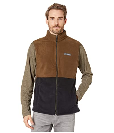 Columbia Basin Trail Vest (Black/Olive Green) Men
