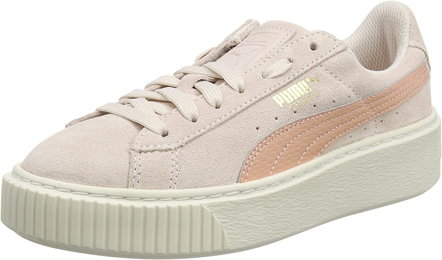 PUMA shoes Woman Low Sneakers 3639063 06 Suede Platform SNK JR