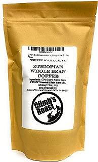 Climb's Roast Gourmet Whole Roasted Coffee Beans, 1 Pound, Ethiopian