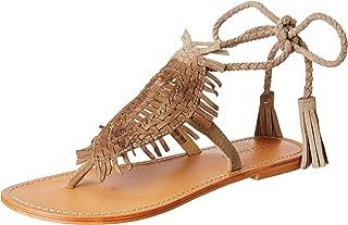 VERO MODA Women's Vm Glad Leather Sandals Fashion