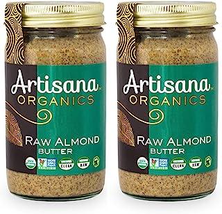 Sponsored Ad - Artisana Organics Non GMO Raw Almond Butter, 14 oz (2 Pack)