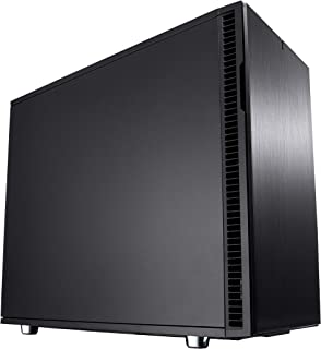 Fractal Design Define R6 USB-C Escritorio Negro - Caja de ordenador (Escritorio, PC, Aluminio, Acero, Negro, ATX,EATX,ITX,Micro ATX, Juego)