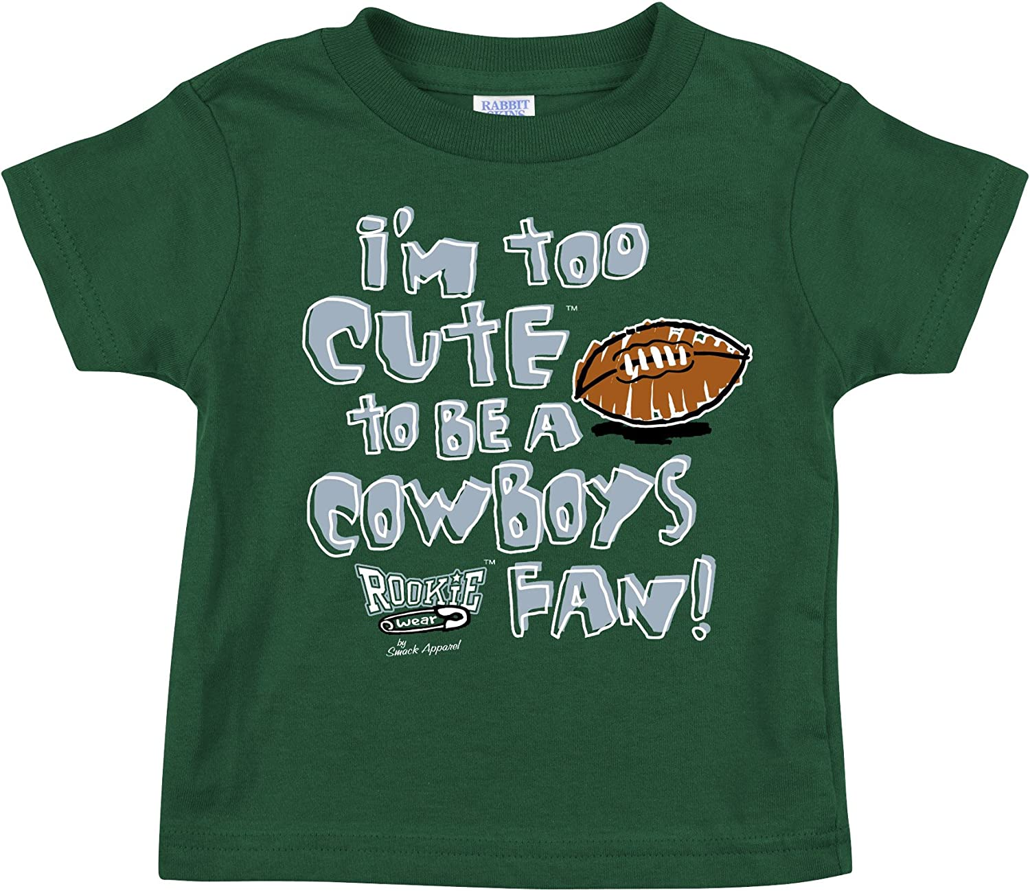 Smack Apparel Philadelphia Eagles Fans. Too Cute. Onesie (NB-18M) or Toddler Tee (2T-4T)