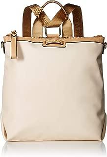 Calvin Klein Lane Nylon Boxy Top Zip Backpack
