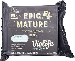 Violife, Cheese Alternative Cheddar Block, 7.5 Ounce